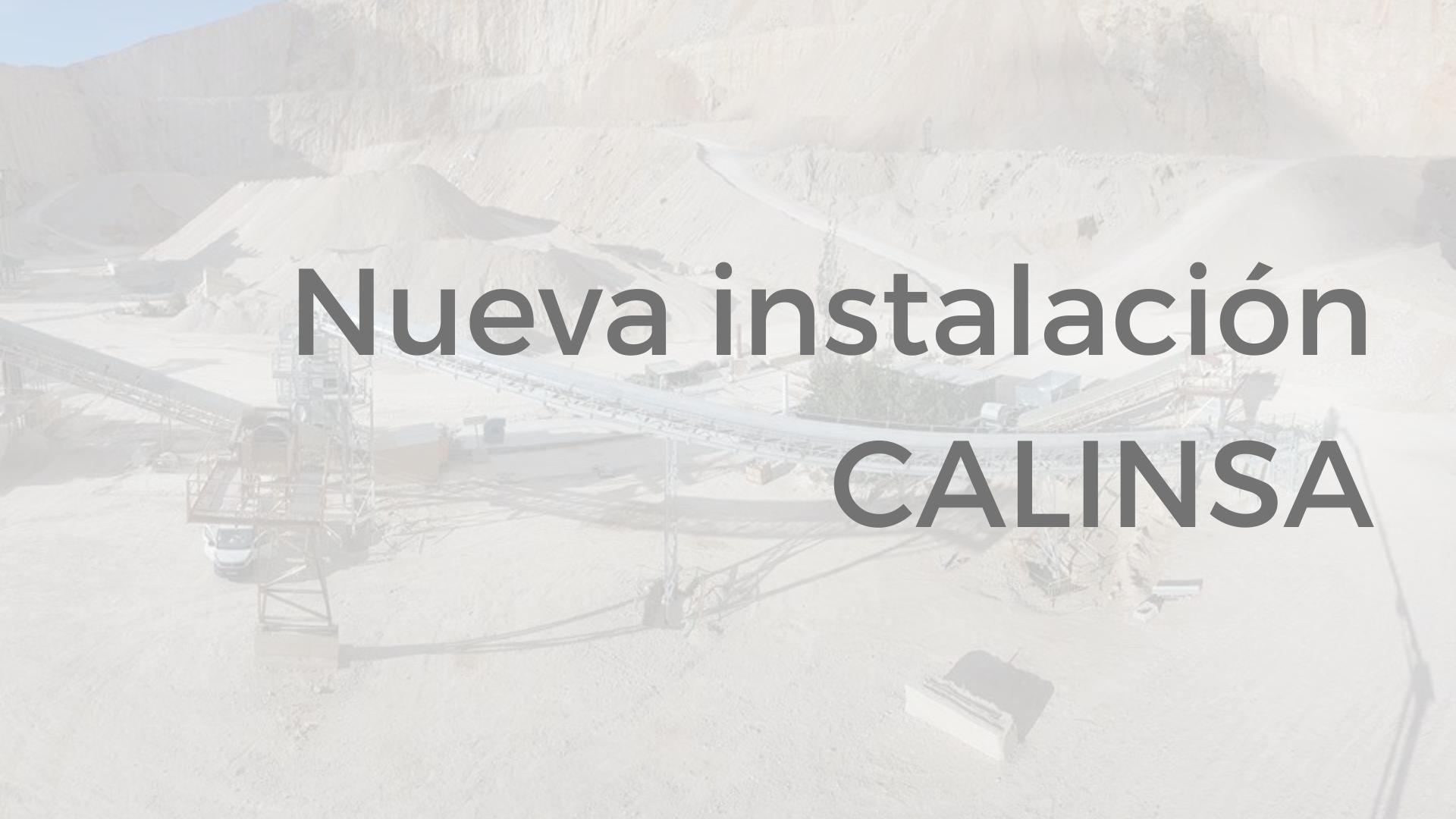 Nueva instalación miningland calinsa